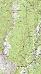 Topographical Map Of New Mexico by Sandia Wilderness New Mexico