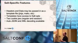 saltconf15 saltstack using apis to integrate saltstack with