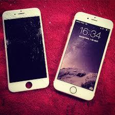 Amado iPhone 6 Gold ou Silver - Substituição da tela Branca original  #AL64