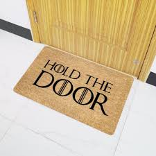 aliexpress com buy mdct funny doormats hold the door entrance