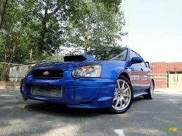 subaru 2004 custom 2004 wr blue pearl subaru impreza wrx sti 33146337 gtcarlot com