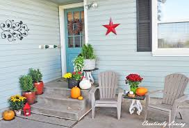 house back porch my fall back porch creatively living blog idolza