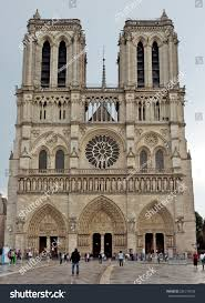 view cathedral notre dame paris france stock photo 226175539 view of the cathedral of notre dame paris france