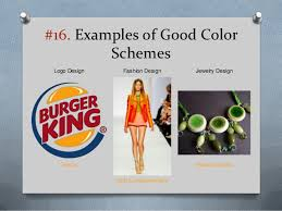 good colour schemes color theory