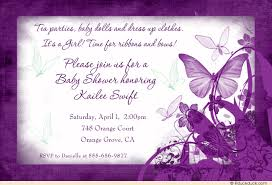 butterfly kisses baby shower invitation sentimental