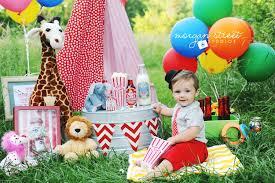baby birthday birthday boy tulsa oklahoma circus themed baby and toddler