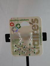 sensitive solutions earrings s s rhinestone fashion earrings ebay