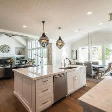 center kitchen islands off center kitchen island design ideas