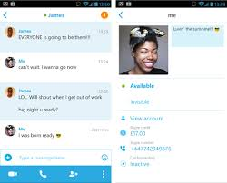 skype android app skype rolls out a faster and lighter android app