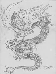 oriental dragon sketch by orcamistress101 on deviantart