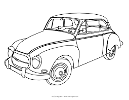 cars to color for kids free download