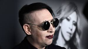 marilyn manson marilyn manson injured after giant stage prop falls on him