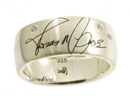 personalized wedding bands personalized wedding rings custom handmade fingerprint jewelry