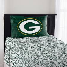 green bay packers kids room at the packers pro shop green bay packers anthem sheet set