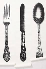 kitchen forks and knives flatware wallpaper fork knife spoon i am beyond obsessed with