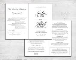 folded wedding program 32 best bi fold wedding programs images on wedding