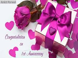 Wedding Wishes Nephew Happy 1st Wedding Anniversary Wishes Sms Greetings Images
