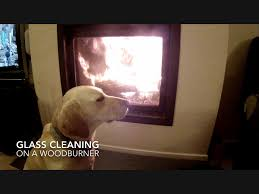 wood stove glass doors how to clean the glass on a wood burner stove youtube