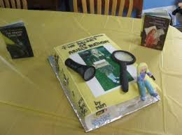 a nancy drew birthday cake u0026 kids mystery party and oh yeah my