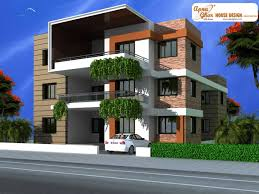 enchanting triplex house plans india gallery best inspiration