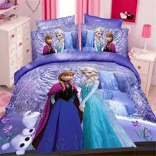 Frozen Comforter Full Frozen Bedroom Set For Girls Blue Color Frozen Elsa Anna Bedding