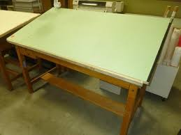 Mayline Ranger Drafting Table Mayline Wood 4 Post Drafting Table Table Designs