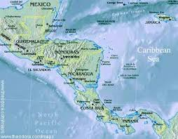 central america physical map physical map of central america central america flags maps
