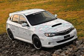 lowered subaru impreza wagon sema show and subaru news and information 4wheelsnews com