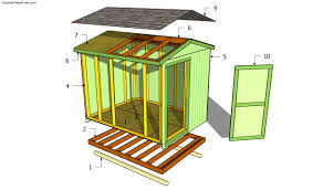 Plans To Build A Wooden Shed by How To Build A Garden Shed The Gardens