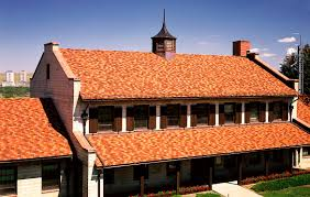 Ceramic Tile Roof Flat Roof Tile Clay Provincial Ludowici