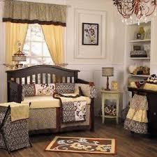 Cocalo Crib Bedding Sets Cocalo Couture Nursery Bedding Set Yellow Brown