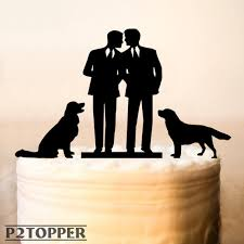cake topper with dog wedding cake topper two dog same cake topper