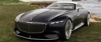 futuristic cars bmw mercedes maybach reveals new futuristic convertible concept car