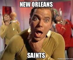 New Orleans Saints Memes - new orleans saints captain kirk choking make a meme
