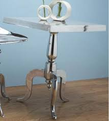 aluminum accent table aluminum accent tables jewelry for your room
