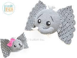 amigurumi pattern pdf free josefina and jeffery elephant pillow pdf crochet pattern irarott inc