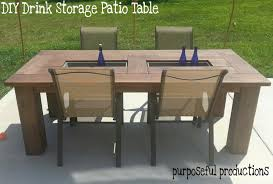 diy backyard tables home outdoor decoration