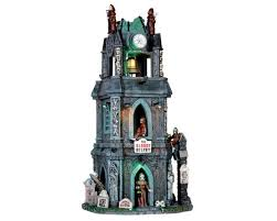 lemax spooky town lemax spooky town the bloody belfry with adaptor 65121