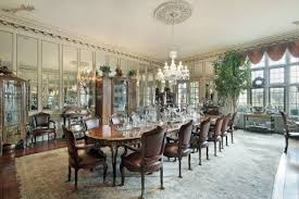 Modern Mirrors For Dining Room by Dining Room With Awesome Elegant Conceptmirror Applied Amazing