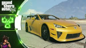 lexus lfa wallpaper yellow lexus lfa 2012 gta 5 car mod youtube