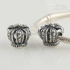 european bead bracelet charms images 2018 authentic 925 sterling silver crown charm fits european jpg