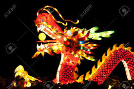 new years lanterns festival lanterns for celebration new year stock