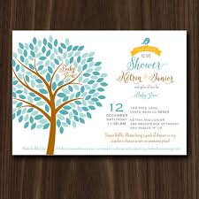 baby shower tree digital file tree baby shower invitation tree of baby shower