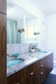 Mid Century Modern Bathroom A Mid Century Modern Inspired Bathroom Renovation Before After