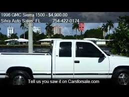 Gmc Sierra Truck Bed For Sale 1996 Gmc Sierra 1500 Club Coupe 6 5 Ft Bed 2wd For Sale I Youtube