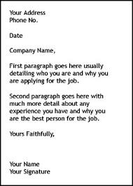job cover letter sample of good cover letter for job cover how