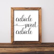 Cubicle Decorating Kits Work Printable Art Cubicle Sweet Cubicle Printable Wall Art