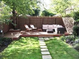 Landscape Ideas For Backyard Long Backyard Landscaping Ideas Wonderful Looking Landscaping