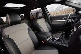 Ford Explorer Interior Dimensions 2017 Ford Explorer Vs 2017 Gmc Acadia Compare Cars