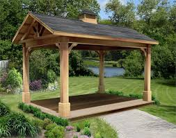 10 X 12 Patio Gazebo by Red Cedar Gable Roof Open Rectangle Gazebos With 6 12 Roof Pitch